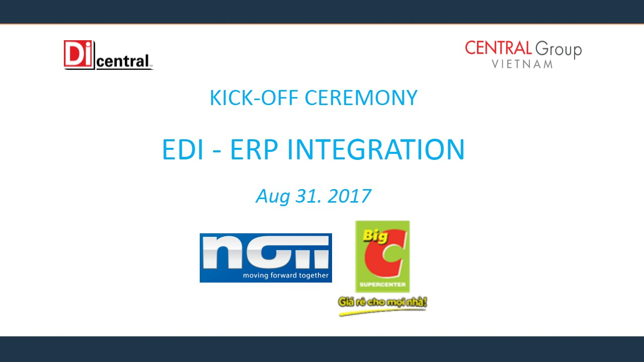 Implementation of EDI and ERP Integration project at Big C